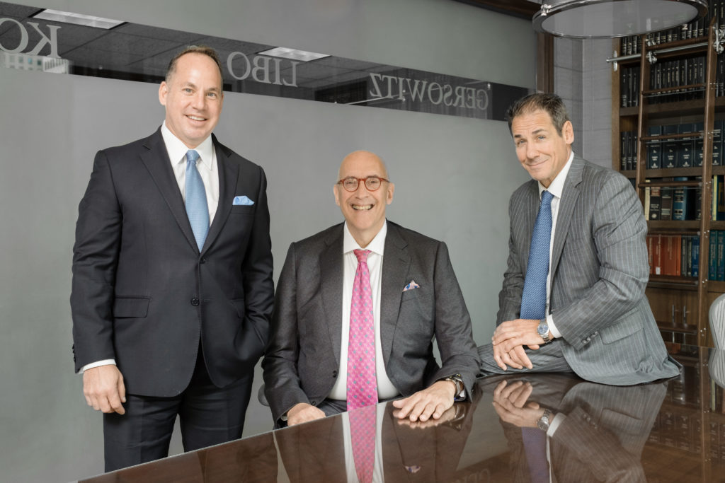 Best Lawyers: Michael Fruhling, Edward Gersowitz, and Jeff Korek - Partners